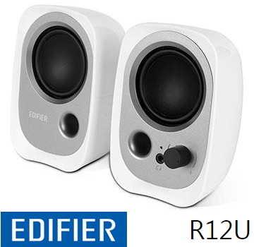 Edifier 漫步者 EDR12U 2.0 聲道二件式喇叭 - 白色 EDR12UWT