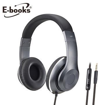 E-books S78立體聲頭戴式耳機麥克風 E-EPA168