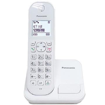Panasonic中文輸入數位無線電話(白) KX-TGC280TWW