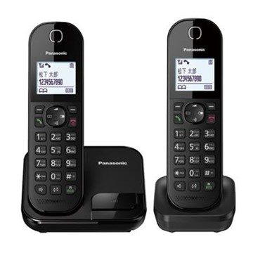 Panasonic中文輸入雙機數位無線電話 KX-TGC282TWB
