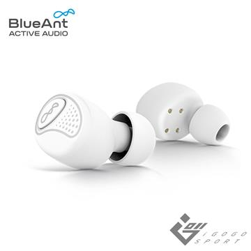 BlueAnt PUMP Air 真無線運動耳機-珍珠白 PUMP AIR