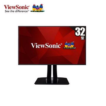【拆封品】【32型】ViewSonic VP3268專業型UHD螢幕