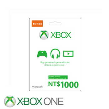 【ESD】微軟 Microsoft 台幣1000元禮物卡數位下載版