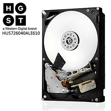 HGST Ultrastar 3.5吋 4TB SATA 企業級硬碟