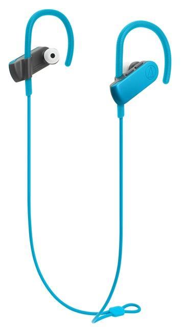 鐵三角 SPORT50BT運動藍牙耳機-土耳其藍