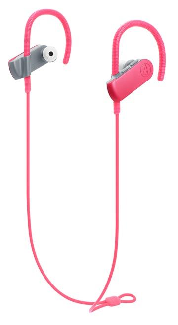 鐵三角 SPORT50BT運動藍牙耳機-珊瑚紅