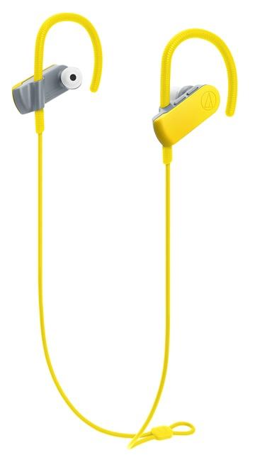 鐵三角 SPORT50BT運動藍牙耳機-蝴蝶黃