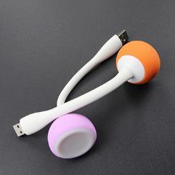 贈品-USB 多彩香菇頭 護眼LED隨身燈