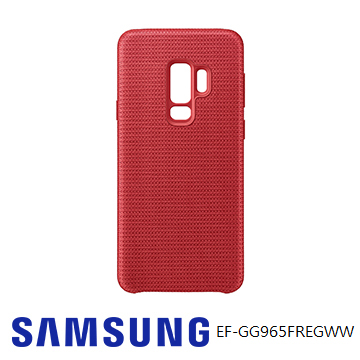 SAMSUNG Galaxy S9+ 網狀織布背蓋 - 紅色