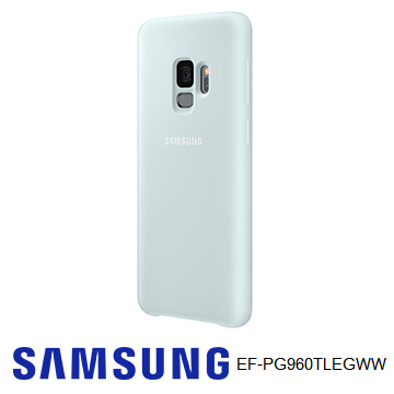 SAMSUNG Galaxy S9 原廠薄型背蓋(矽膠材質) - 藍色