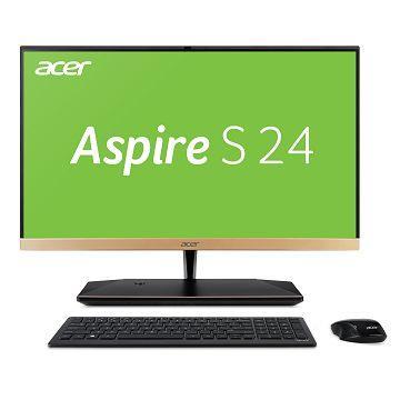 【AiO】宏碁Acer S24 23.8吋液晶電腦(i7-8550U/16GD4/256G+1T)