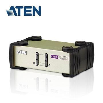 ATEN 2埠USB+PS/2多電腦切換器