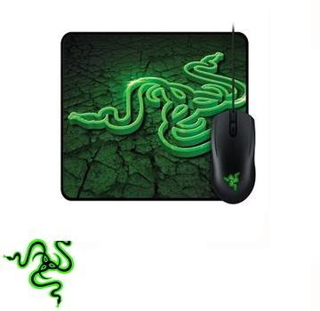 【福利品】控制版 Razer 地獄狂蛇 2000dpi電競滑鼠 + 滑鼠墊組