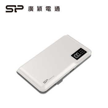 Silicon-Power 10000mAh 行動電源-白