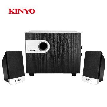 KINYO 2.1聲道精緻立體擴大音箱
