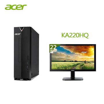 【同捆組】Acer Aspire XC-330 桌上型主機+【22型】ACER LED液晶螢幕