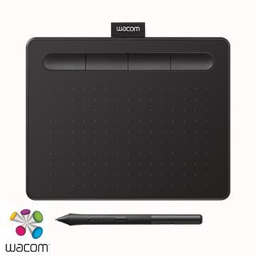 【入門版】Wacom Intuos Basic 繪圖板 - 黑色