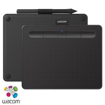 【S】Wacom Intuos Comfort 藍牙繪圖板 - 黑色
