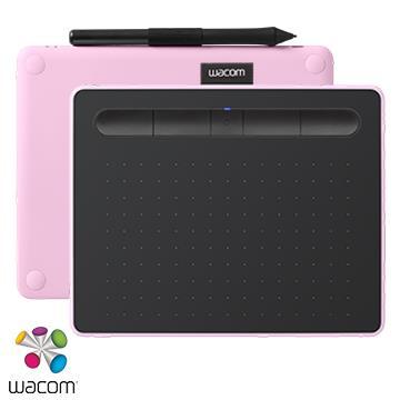【S】Wacom Intuos Comfort 藍牙繪圖板 - 粉色