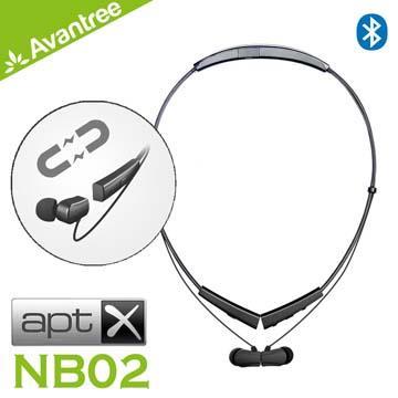 Avantree NB02磁吸後掛式運動藍牙耳機 NB02