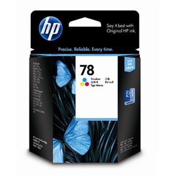 惠普HP 78號三色原廠墨水匣