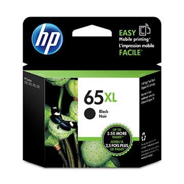 HP 65號XL黑色原廠墨水匣