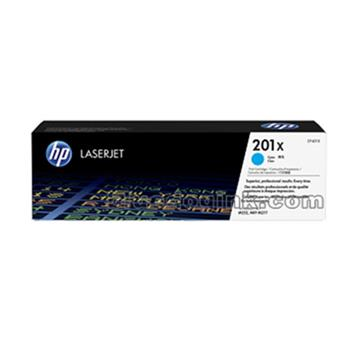 HP 201X青色原廠高容量碳粉匣 CF401X