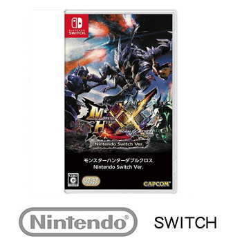 任天堂 Nintendo Switch 魔物獵人 XX Monster Hunter XX - 日文版