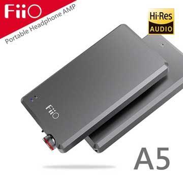FiiO A5隨身型耳機功率放大器-鈦色