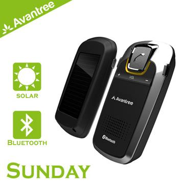 Avantree Sunday太陽能藍牙車用免持 Sunday