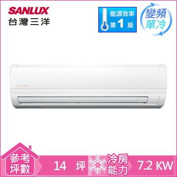 台灣三洋一對一變頻單冷空調(精品型)
