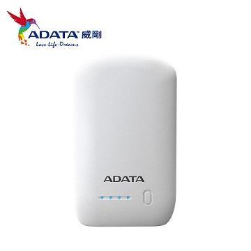 (拆封品)ADATA 10050mAh行動電源 - 白色