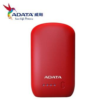 ADATA 10050mAh 行動電源 - 紅色