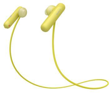 SONY WI-SP500無線藍牙運動耳機-黃