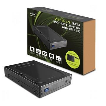 凡達克2.5吋轉3.5吋轉接盒(附USB3.0)