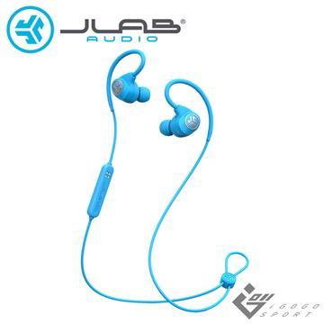 JLab Epic Sport藍牙運動耳機-藍