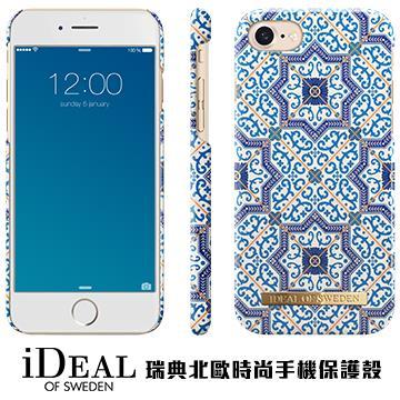 【iPhone 8 / 7】iDeal Of Sweden瑞典北歐時尚手機殼 - 摩洛哥古典釉瓷