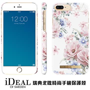 【iPhone 8 Plus / 7 Plus】iDeal Of Sweden瑞典北歐時尚手機殼 - 浪漫花語