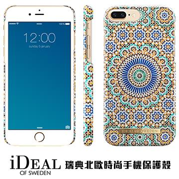 【iPhone 8 Plus / 7 Plus】iDeal Of Sweden瑞典北歐時尚手機殼 - 摩洛哥幾何藝術