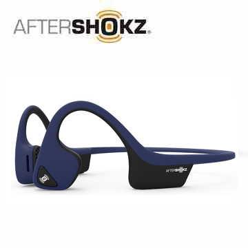 【公司貨】AFTERSHOKZ Trekz Air AS650 骨傳導運動藍牙耳麥 - 午夜藍