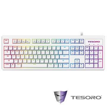 TESORO ExcaliburRGB V2鍵盤-白(紅軸/中文)
