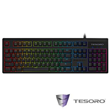 TESORO ExcaliburRGB V2鍵盤-黑(紅軸/中文) G7SFL(TW)BK&RD