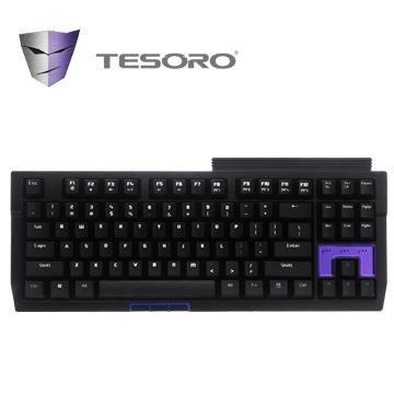 TESORO Tizona機械式鍵盤(青軸/中文版) G2N(TW)BL