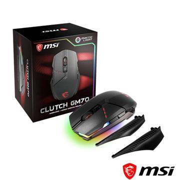 微星MSI Clutch GM70電競滑鼠