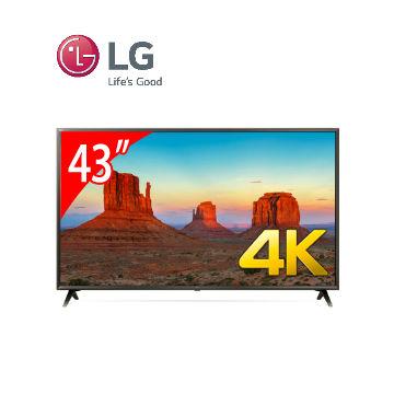 LG 43型廣角4K IPS智慧連網電視