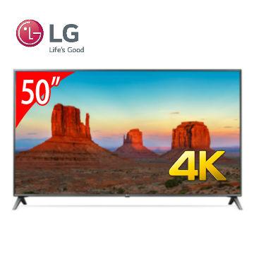 LG 50型4K智慧連網電視 50UK6500PWC