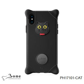 【iPhone X】Bone 泡泡保護套 - 貓咪