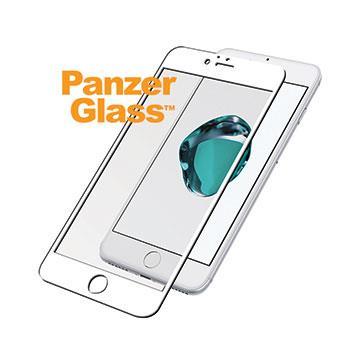 【iPhone 8 Plus / 7 Plus】PanzerGlass 3D滿版鋼化玻璃保護貼 - 白 B2617