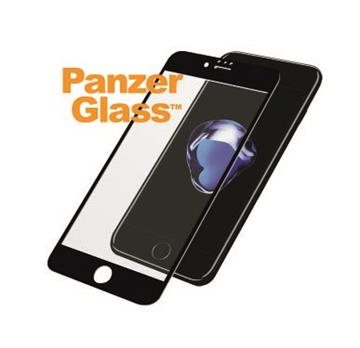【iPhone 8 Plus / 7 Plus】PanzerGlass 3D滿版鋼化玻璃保護貼 - 黑 B2615