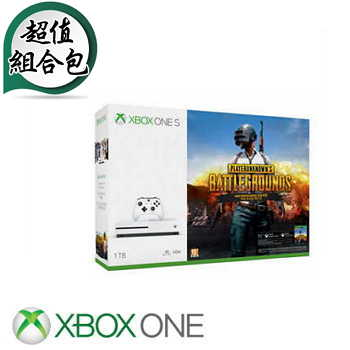 「螢幕限量包」【1TB】XBOX ONE S 絕地求生 Player Unknown's Battlegrounds同捆組主機 234-00321